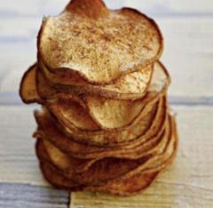 Натуральні грушеві фріпси з додаванням кориці