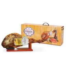 Подарочный набор хамон (нога + хамонера + нож)
